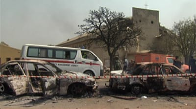 Boko Haram has claimed responsibility for several attacks on churches [AFP]