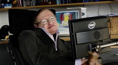 Stephen Hawking defying time and space at 70