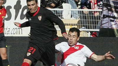 No happy return for Sevilla's Reyes