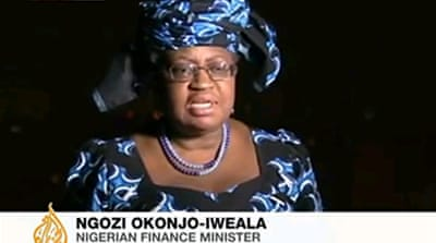 Nigeria finance minister speaks to Al Jazeera