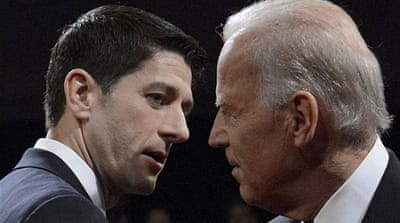 Candidates spar in US vice president debate