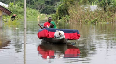 Nigeria hit by worst flooding in a generation