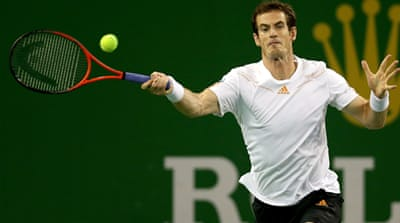 Murray will meet Serbian Novak Djokovic who continued his push for year-end top ranking with a one-sided victory over Tomas Berdych [Reuters]