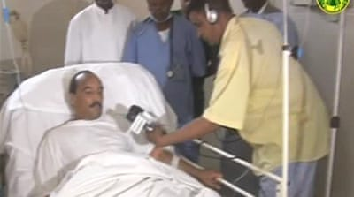 Wounded Mauritania president flown to Paris