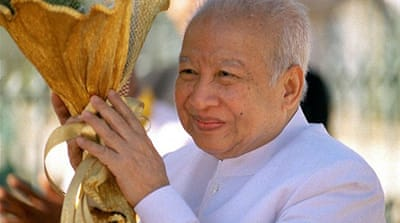 Sihanouk was a key figure in Cambodian politics for 60 years before abdicating power in 2004, citing poor health [AFP]