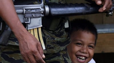 In Pictures: Life in Philippine rebel bastion