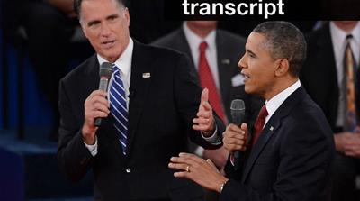 Interactive video of the Obama-Romney rematch