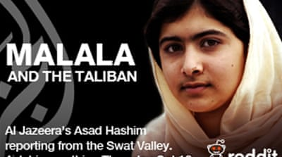 Malala Yousafzai was shot by Taliban fighters for opposing the group and advocating education for girls [EPA]