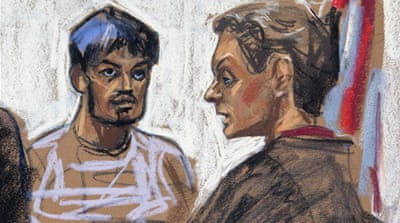 Quazi Mohammad Rezwanul Ahsan Nafis was arrested for attempting to blow up a fake car bomb in Manhattan [AFP]