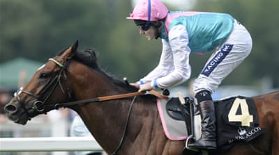 Champion horse Frankel set for final run