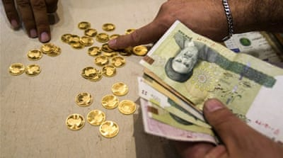 The collapse comes after Iran opened a new currency exchange which offers dollars at a reduced rate [Reuters]