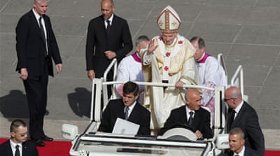 Pope Benedict was elected as pope in 2005 [Reuters]