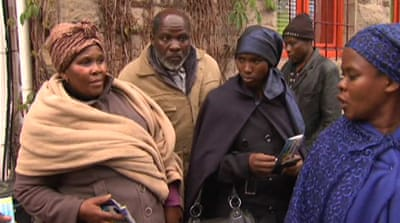 S Africa families grieve for loved ones