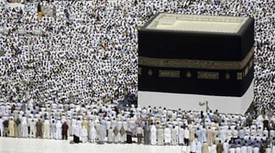 More than 1.6 million pilgrims have until now arrived in Mecca to perform Hajj [Reuters]