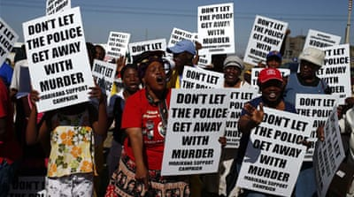 Police admit 'overreacting' at Marikana