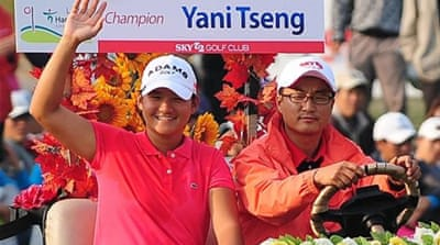World number one Yani Tseng is hoping to add the 2012 title to her 2011 Taiwan Championship victory [AP]