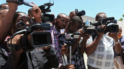 Somalia is the number two country in the world, behind Iraq, for unsolved journalist killings in recent years [Reuters]