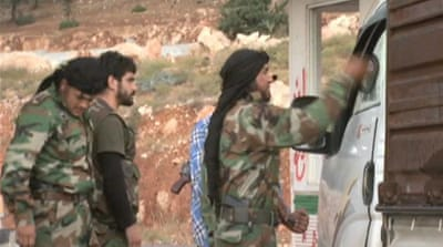 Syrian rebels in uneasy alliances