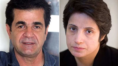 Nasrin Sotoudeh, 49,  is currently behind bars in Iran, serving a six-year sentence in solitary confinement [EPA]