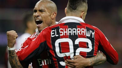 El Shaarawy's goal may ease the pressure off manager Massimiliano Allegri - for now [Reuters]