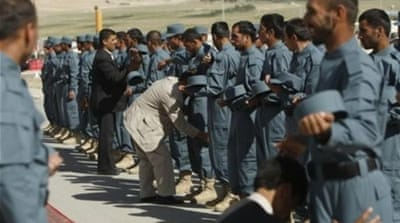 French train Afghan police ahead of drawdown
