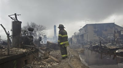 US declares major disaster in NY after Sandy