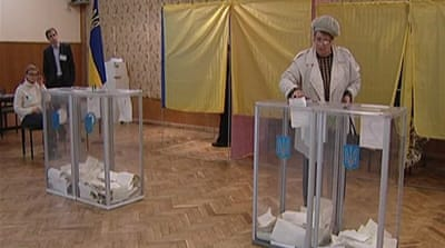 Corruption charges mar Ukraine vote