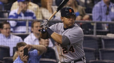 Cabrera finished the regular season with a better average than the Angels' Mike Trout, his biggest rival for MVP [AFP]