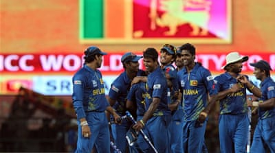 Three years ago, Sri Lanka lost to Pakistan in the World Twenty20 final – this time, they will face either Australia or Windies [EPA]