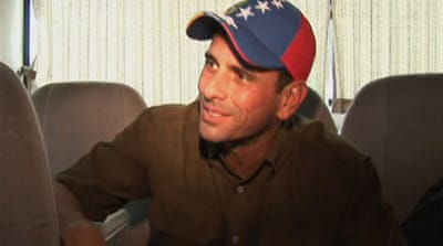 Henrique Capriles talks to Al Jazeera