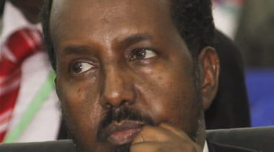 Hassan Sheikh Mohamud's appointment of Abdi Shirdon is the first major decision of his government  [EPA]