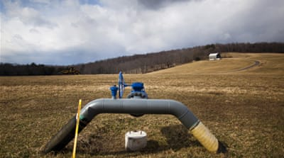 "Most climate scientists suggest that severe drought is likely to become the ""new normal"" in many parts of the United States, putting the fracking boom very much into question [EPA]"