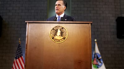 Romney urges more assertive US foreign policy