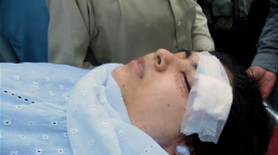 Yousafzai was shot in Mingora, Swat, by Taliban gunmen on October 9 [Reuters]
