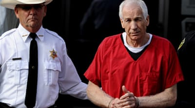 Sandusky gets 30-60 years in prison for abuse