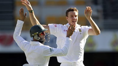 South Africa only need to draw the three-match series to retain their No. 1 Test ranking [Reuters]