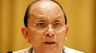 President Thein Sein's government has embarked on reforms, ending Myanmar's international pariah status and half-century of isolation, both self-imposed and externally-maintained [EPA]