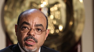 There is little doubt that Meles Zenawi's political architecture gave modest advantages to most ethnic groups in the country who were the subjects of the empire [EPA]