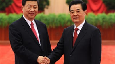 The great China handover