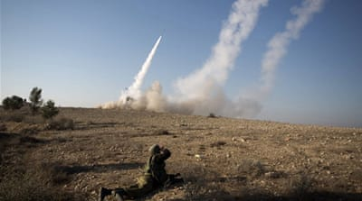 Israel's Iron Dome intercepts rockets