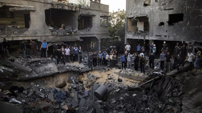 Civilian death toll mounts in Gaza