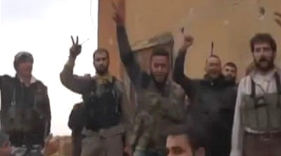 Rebels capture key Syrian military base