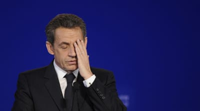 Sarkozy has been accused of illegal financing in his 2007 presidential campaign [EPA]