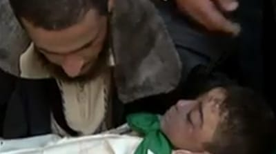 Gaza family killed by Israeli airstrike
