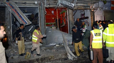 Dozens killed in string of Pakistan attacks