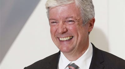 Tony Hall worked for the BBC for 28 years in various positions, before quitting in 2001 to pursue private interests  [AFP]