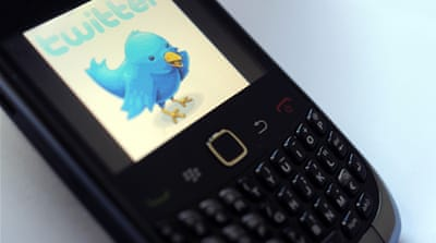Twitter had previously enabled the service in 2011 when Egyptian authorities shut down the internet for several days [Reuters]