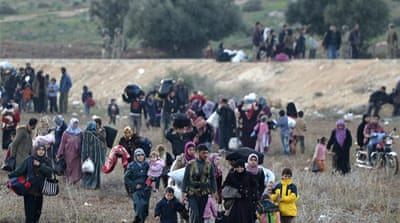 New wave of Syrian refugees flee to Turkey