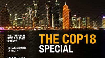 Al Jazeera's COP18 digital magazine issue