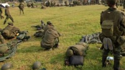 Reports of rape and looting by DRC soldiers